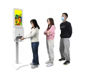 hand washing kiosk,thermal imaging temperature measuring thermal imaging temperature measuring kiosk