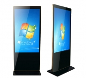 Ultra-thin Bezel Floor Standing LCD Advertising Player